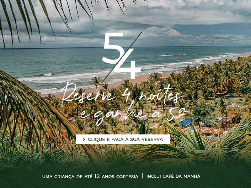 Txai Hotels & Resorts - 5/4 Reserve 4 noites e ganhe a 5a